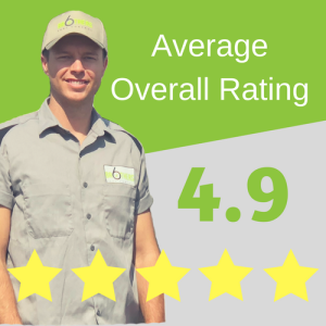 Average Overall Rating 4.9